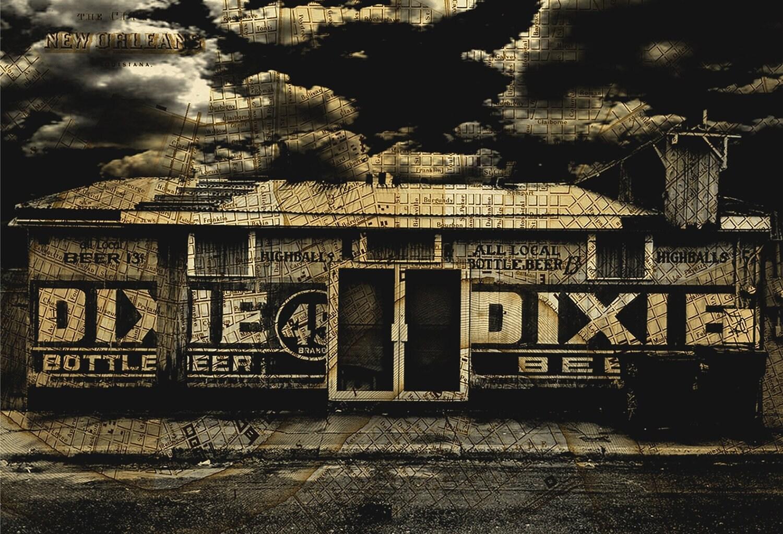 """Lost Dixie- """"8x10"""" Print"""