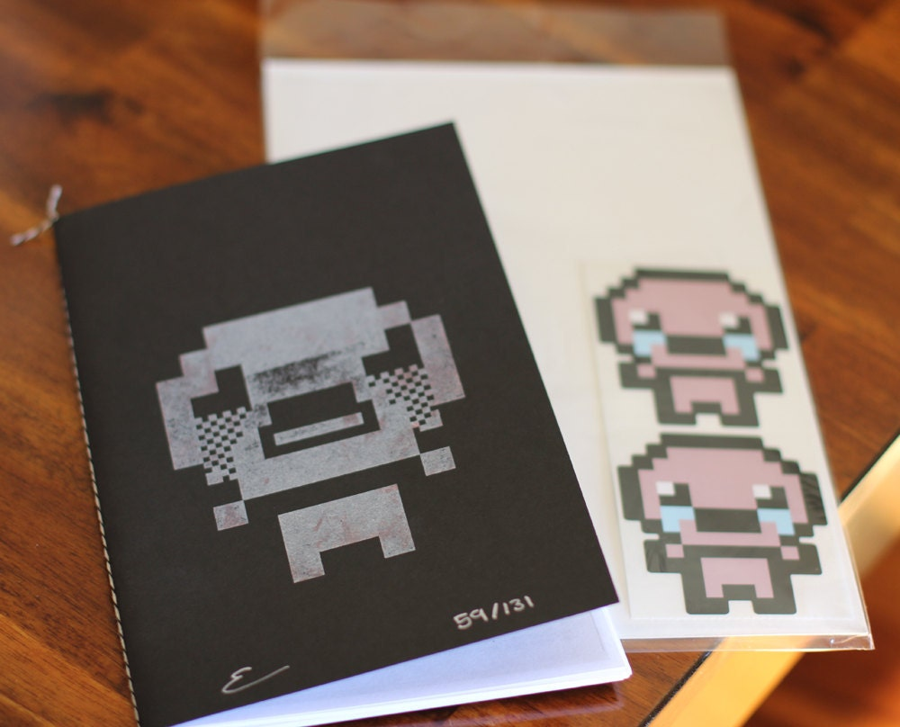 il 570xN.292282826 Une Limited Edition Zine pour Binding of Isaac