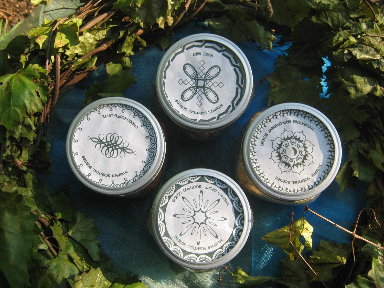 Spa Aromatherapy Rose Mint Body Scrub