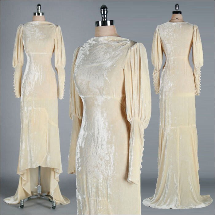 Wedding Dresses Velvet 46