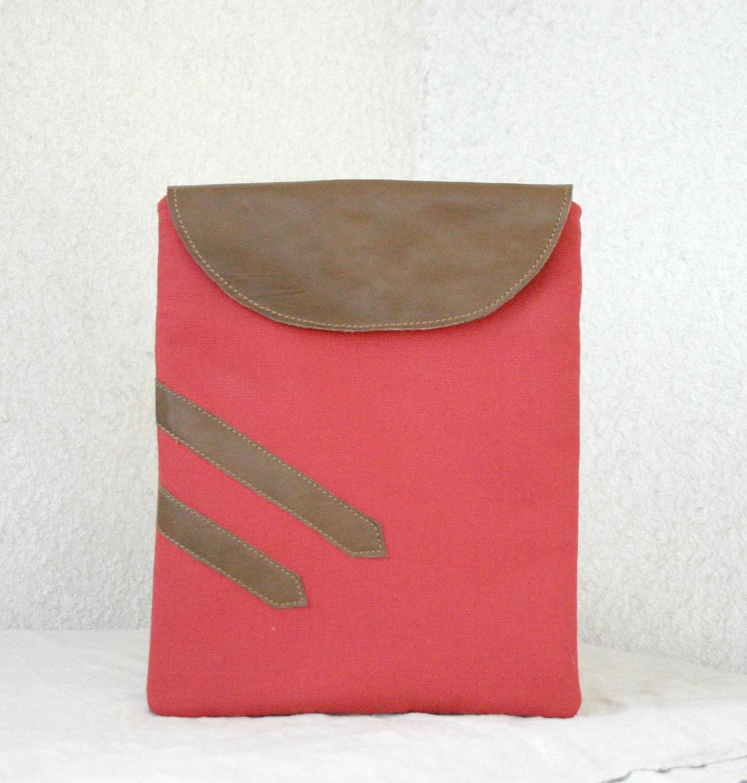 iPad Case iPad padded sleeve flap leather geometric - HelloVioleta