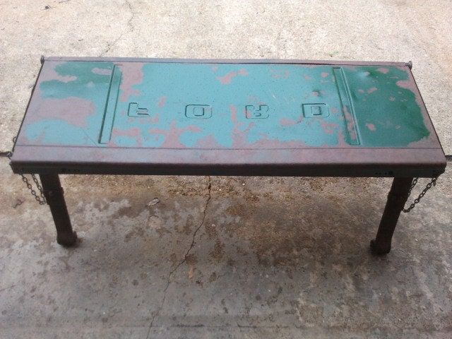 Ford Tailgate Bench by WilsonWelding on Etsy Reclamation
