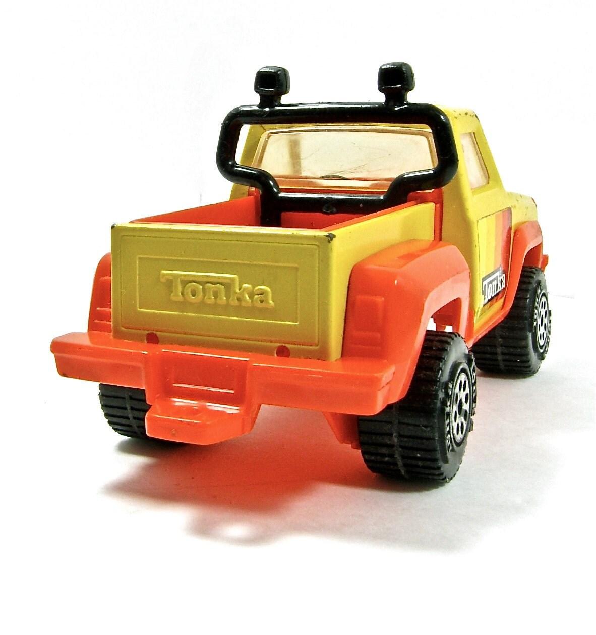 Tonka 4x4 Pickup Truck 1970s - OliveandFrances