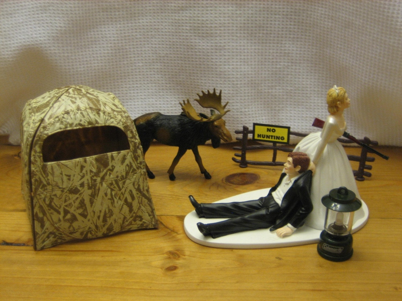 wedding cake toppers fishing