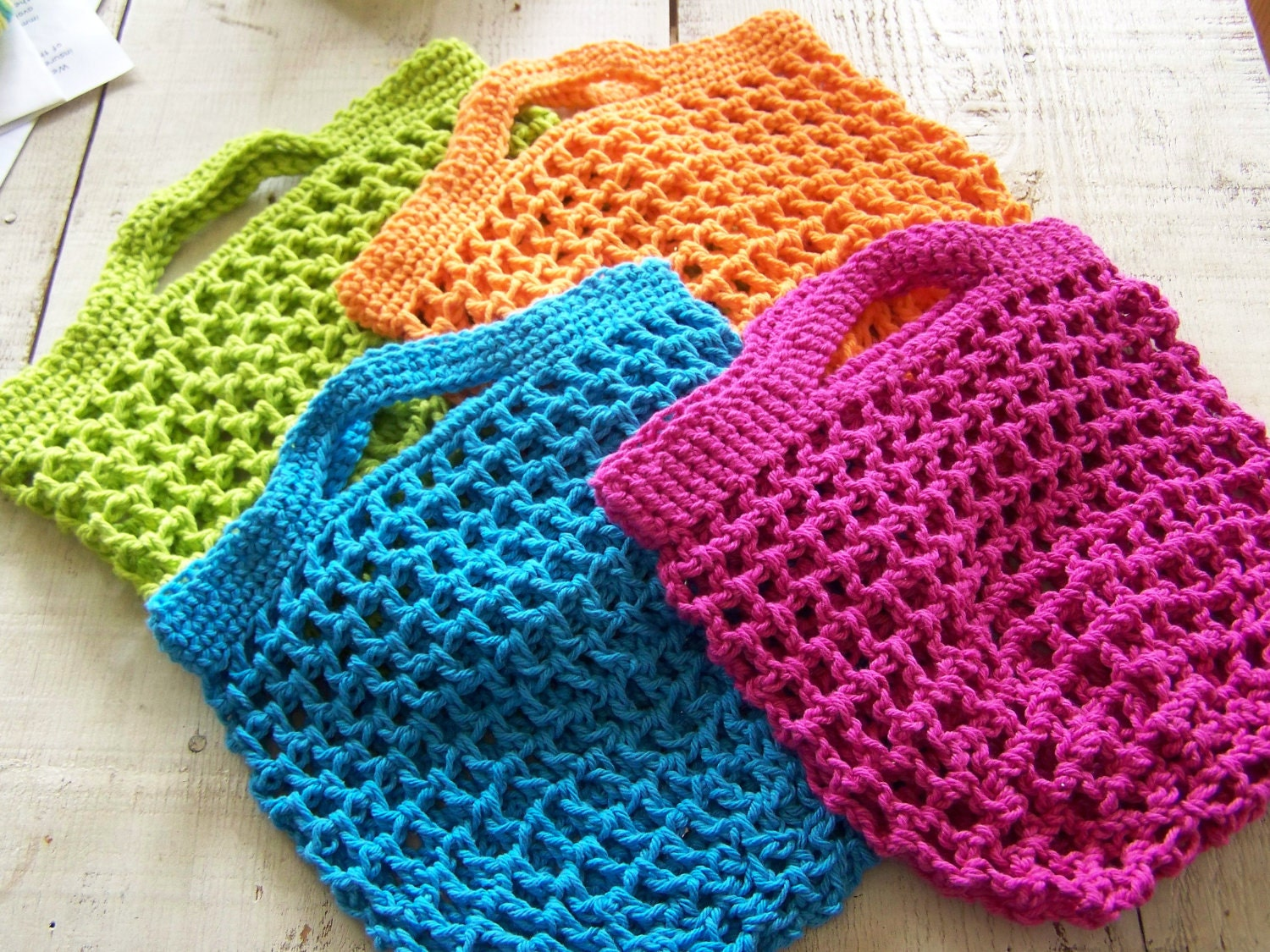 Small Tote Bags: Small Tote Bag Crochet Pattern
