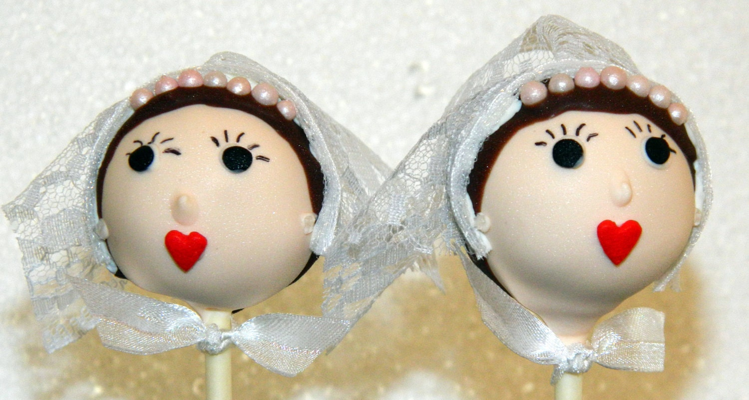Cake Pop Wedding -- 1 Dozen