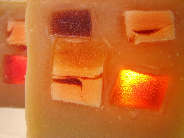 SOAP- Vanilla Tangerine Clove Soap, Handmade Soap, Cold Process Soap, Shaving Soap, Soap Gift - DeShawnMarie