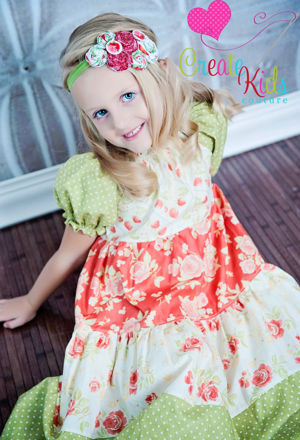 Tiered ruffle dress pattern in Baby & Kids' Dresses / Skirts