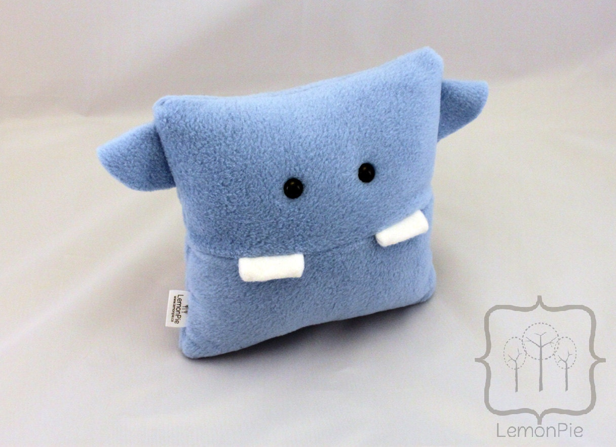 Toothy Air the Monster Pillow
