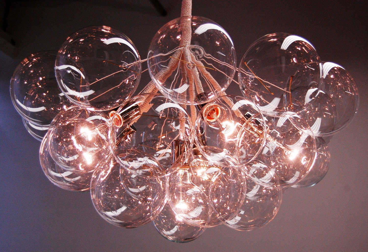 Jumbo Bubble Chandelier by PELLE