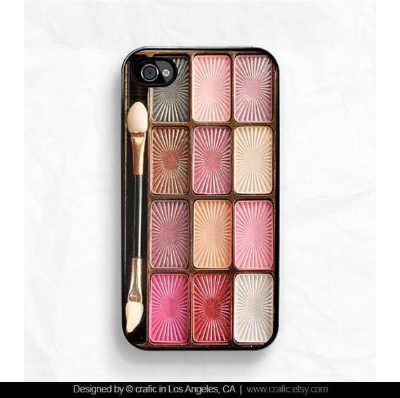 Eyeshadow Makeup Set iPhone Case - iPhone 4 case iPhone 4s case -