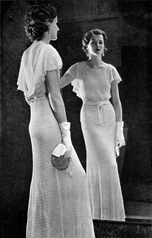 Vestidos De Ganchillo De Los A 241 Os 30 Petronialocuta