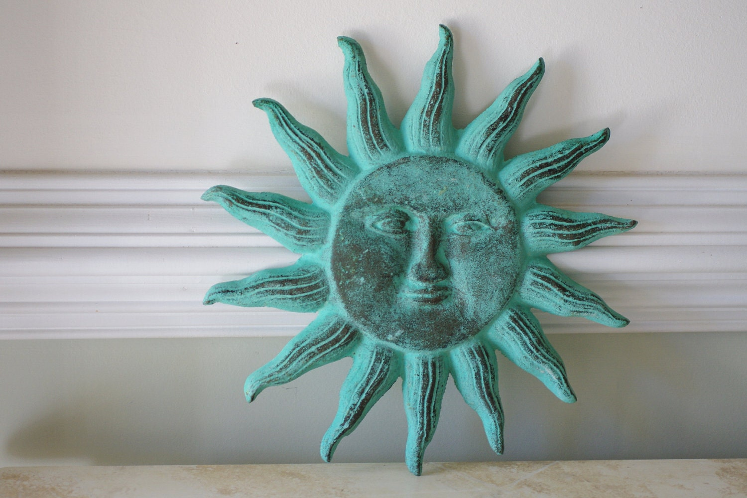 Outdoor Decor Sun Faces