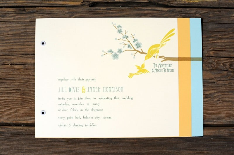 Art Deco Love Birds Wedding Invitations From ruffhouseart