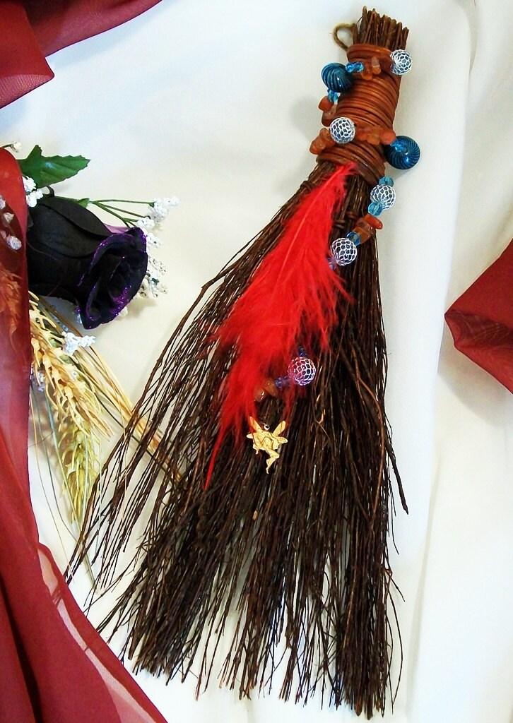 Fae Adorn Altar Besom Scented Broom