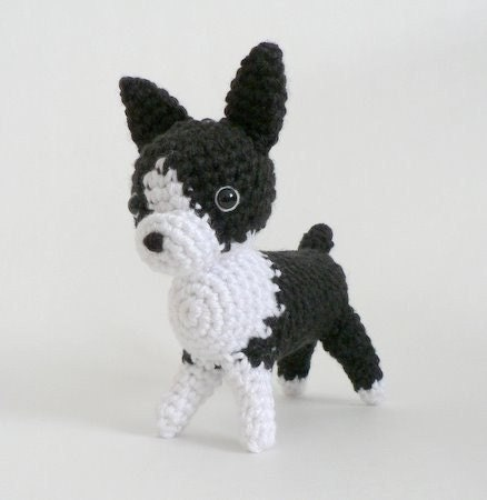 Amigurumi Dog Knitting Patterns : AMIGURUMI DOG PATTERN FREE Knitting PATTERNS