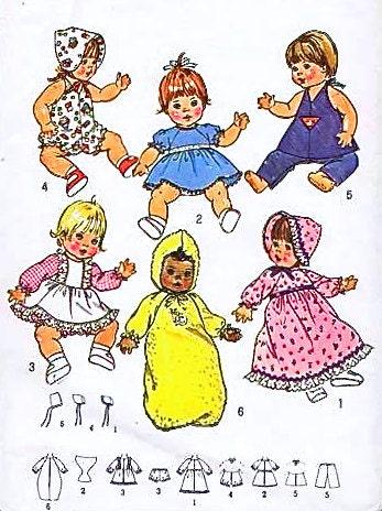 Vintage Baby Doll Diaper Pattern | eBay