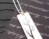 Custom Listing for Amy - Spring Tree Pendant with Personalization  - Tree of Life in Sterling Silver by Eclectic Wendy Designs