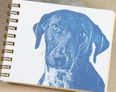 Mini Journal - Little Blue Dog