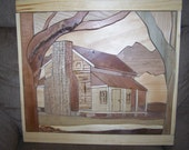 INTARSIA ROCKY TOP LOG CABIN sold, but we can make another one