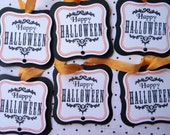 Happy Halloween Tags...set of 6