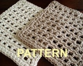 Free Crochet Dishcloth and Potholder Pattern