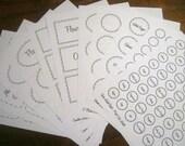 The Organized Kitchen Label Kit - 11 documents