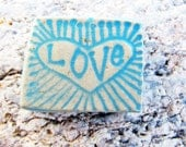 Handmade Love Ceramic Shard
