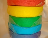 All Natural Children's Creative Dough - Rainbow Colors - Big 18 oz Tub - MumtazCreations