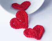 Crochet red hearts epictt therougett efpteam