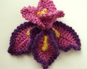 3D 3-Layer Crochet Flowers