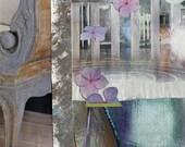 Print Fine Art Giclee Architectural Garden IV