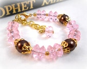 Posh Child bracelet in Pink and Brown
