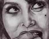 Sophia Loren Face Study 8x10 (PRINT)
