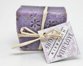 Natural Eco Wedding Favor Soap Minis