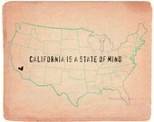California is a state of mind ( custom state)