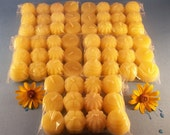 Beeswax Tea Lights Mixed Bees Wax Candles 60 Pack