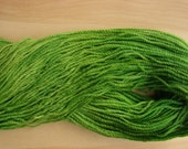 Worsted Weight Wool Yarn- Grass Green- 4 ounces/247 yards