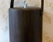 Swanky Woodgrain Wine Chiller or Ice Bucket - Mesmerize your Dinner Guests - FREE SHIP