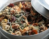 Cloudberry Leaf Tisane - Loose Leaf tin - for Stress Relief