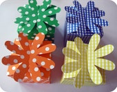 4 Small Flower Gift Boxes