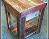 Barn Wood End Table  for John