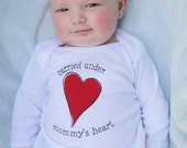 Infant Gown: Mommy's Heart - Valentine's Day gift for babies