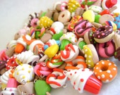 Polymer Clay Charms- Set of 20