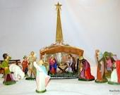 german nativity antique set