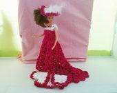 New handmade BARBIE CLOTHES Lace Victorian Style set - barbie dolls (nannycheryl original) 859  x 83