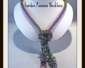 beads patterns indermediate level lariet necklace