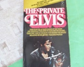 THE PRIVATE ELVIS Vintage Paperback Book 1970s