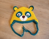 Special Agent OSO hat- made to order from newborn to age 2.
