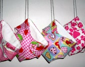 handsewnbyme Fitted Cloth Diaper ,Babys First Valentine, Valentines Day Gift, Package Tie On Party Favor Decoration